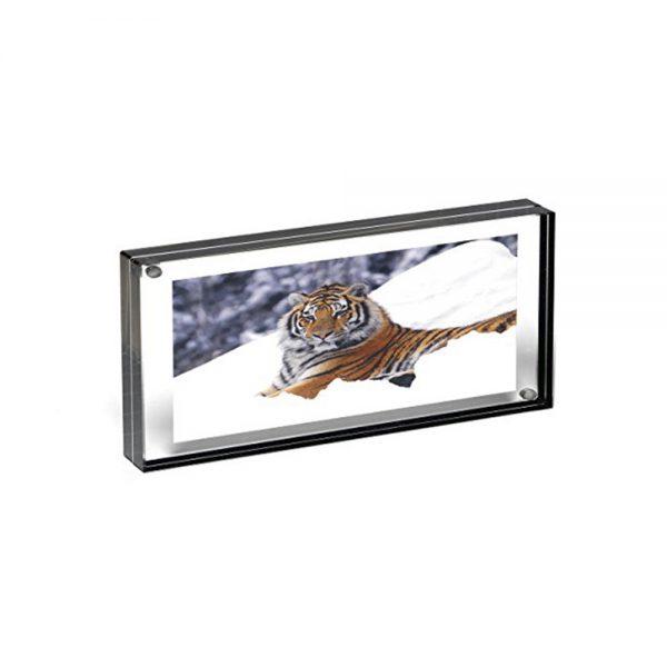 Graphite Edge Magnet Frame - panoramic